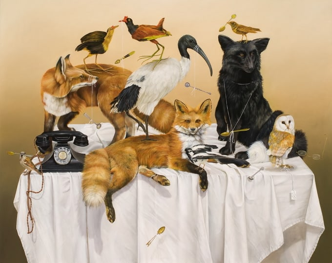 Artist Kate Bergin -illustrator, artist, animals