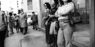 Black & White Photography of Street Scenes in New York City in the 1970s