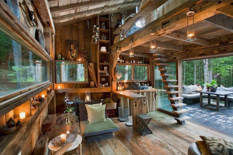 Cabin Interior Geniusness