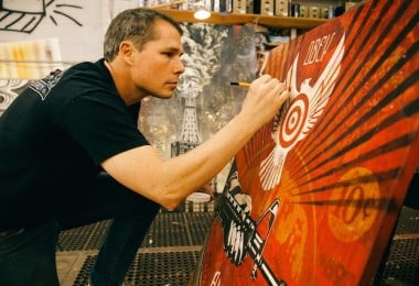 Power & Glory: Shepard Fairey for Halsey Institute of Contemporary Art