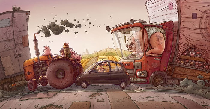 Illustrator Michal Dziekan -