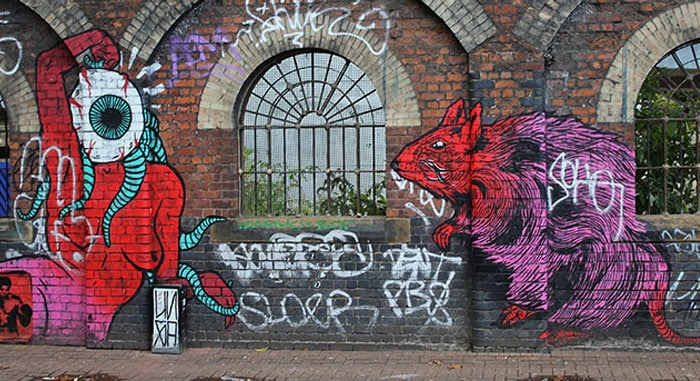 Broken-Fingaz-Crew-Street-Art-Sclater-Street