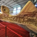 The World's Longest Wood Carving Masterpiece by Zheng Chunhui