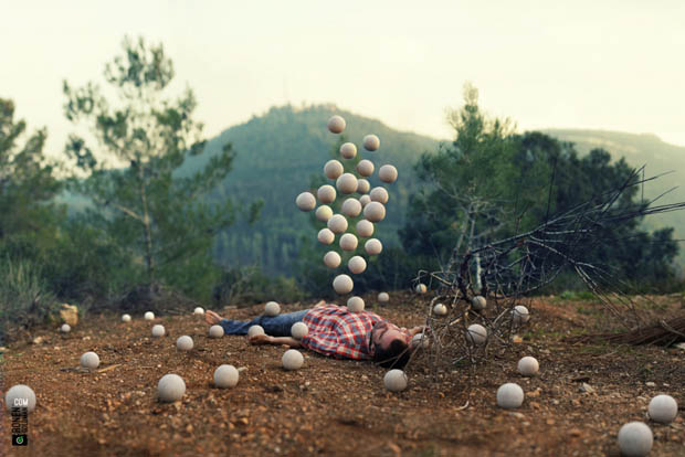 """Surrealistic Pillow"" by Ronen Goldman -surreal, photo-project, photo manipulations"