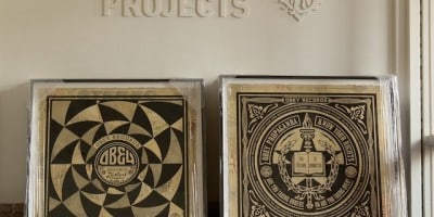 Shepard Fairey / OBEY – 50 Shades Of Black at Subliminal Projects