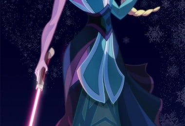 Disney Princesses Illustrated As Star Wars Characters