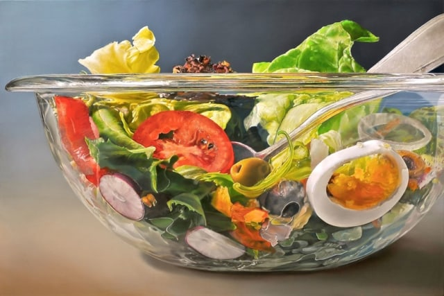 Super hyperrealistic food paintings by tjalf sparnaay - Hyper cuisine ...