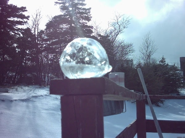 A+frozen+water+balloon.+ +The+30+Most+Amazing+Photos+Of+Frozen+Things+In+Honor+Of+The+Coldest+Morning+Of+The+21st+Century - The 30 Most Amazing Photos Of Frozen Things In Honor Of The Coldest Morning Of The 21st Century