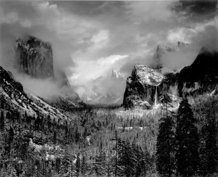 ansel adams a legend is born Ansel adams was an iconic american photographer known for his grandiose black-and-white photographs of the american west view ansel adams's 4,763 artworks on artnet.