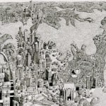 Intracite Cityscapes Emerge from Pen Illustrations by Benjamin Stack