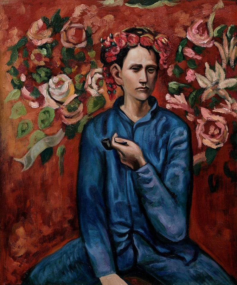 Famous-arts-oil-painting-Boy-with-Pipe-by-font-b-Pablo-b-font-font-b-Picasso