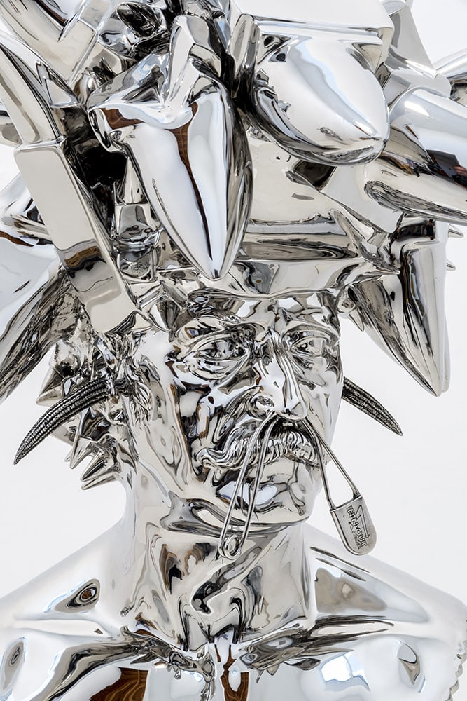 The Stainless Steel Artworks Of Joel Morrison -sculptures