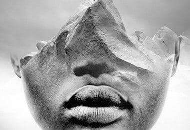 Surreal Photography Pairings of Humans and Landscapes by Antonio Mora