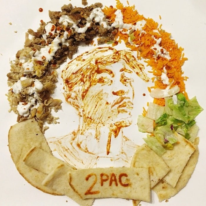 """""""ART IN THE EATS"""" - Pop Culture Food Art by Tisha Cherry -"""