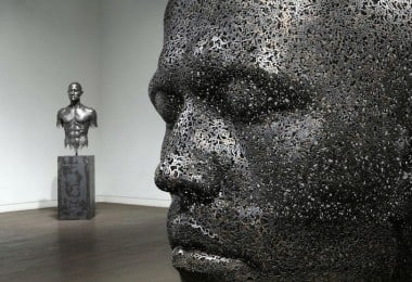 Look at These Sculptures Made Entirely from Bicycle Chains