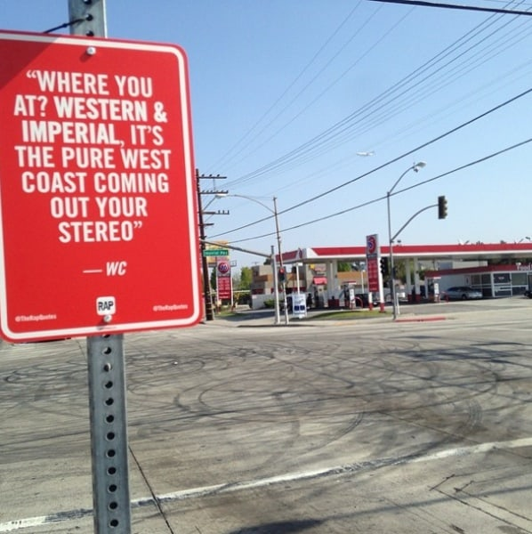 New _RAP_QUOTES_Signs_on_Original_Locations_in_Los Angeles_2014_03