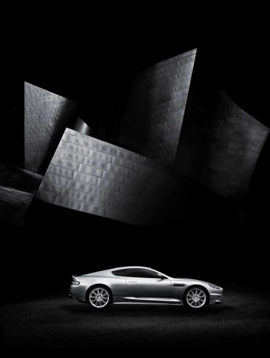 car photography 100 years of Aston Martin