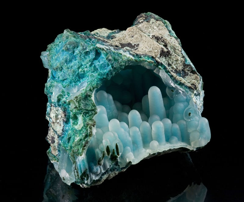 chalcedony-on-chrysocolla-in-malachite-diglet-super-mario-mineral-3