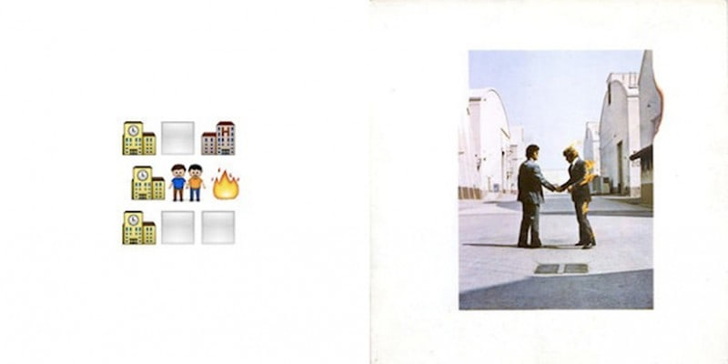 When Classic Album Covers Look Like Emojis -