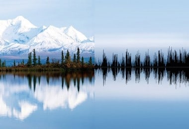 Natural Landscapes converted into Sound Waves by Anna Marinenko