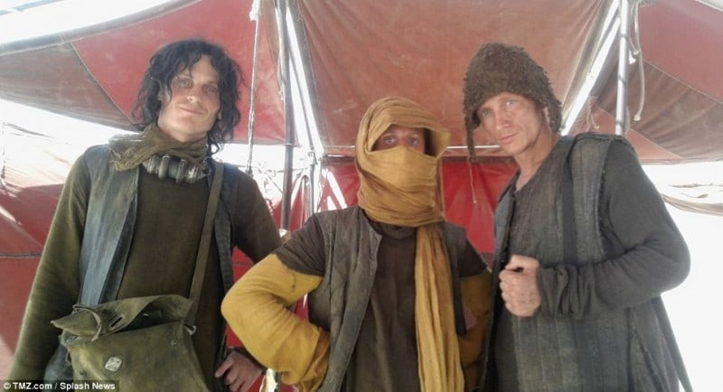 Leaked Photos From the Set of New Star Wars Movie -Star Wars, backstage, actors