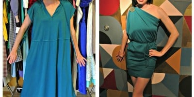"""""""The ReFashionista"""" Turns Frumpy Second-Hand Clothes Into Elegant Dresses"""