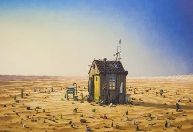 Stunning Surreal Artwork by Jacek Yerka