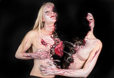 Terrifyingly Beautiful and Incredible Body Art