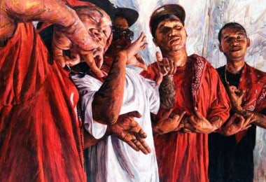 """THIS CRAZY LIFE"" - Figurative Paintings Of Gang Members by Michael Vasquez"