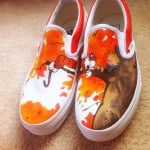 Artist Hand-Paints Shoes With Pop Culture Designs