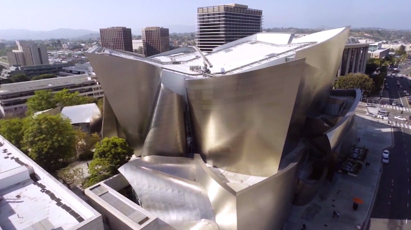 Downtown Los Angeles – L.A. Architecture and Streetart from Above -streets, Los Angeles, drone