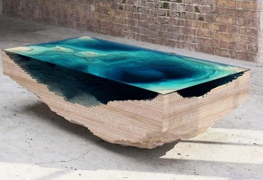 The Abyss Table That Replicates The Dramatic Ocean Depths