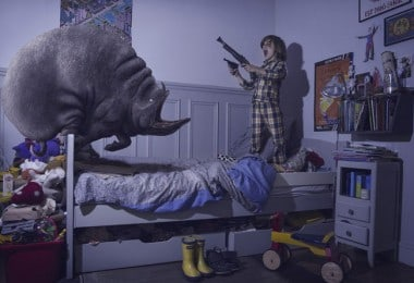 Kids Battle the Monsters of their Nightmares