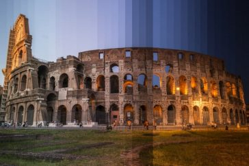 Time Sliced: Famous World Locations captured through different times of the Day by Richard Silver -timelapse, photo-series