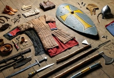 Stunning Photo-Series Shows The Evolution Of British Soldiers' Kits From 1066 To 2014