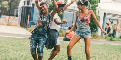 The Most Stylish and Beautiful Girls at Afropunk-2014