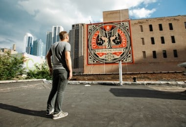 """We Own The Future"" - New Mural by Shepard ""Obey"" Fairey in Chicago"