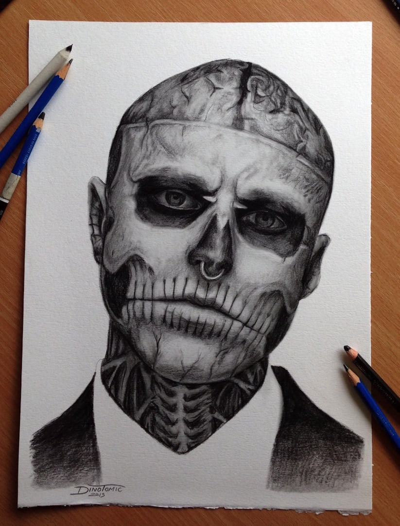 Amazing Pencil Drawings by Tattoo Artist Dino Tomic -
