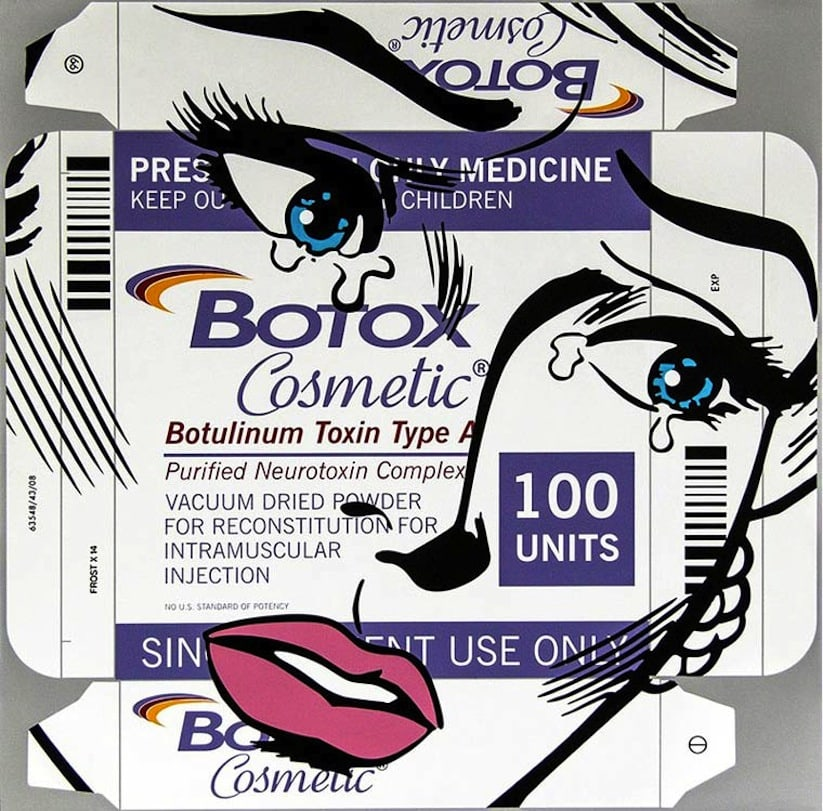 Artist Ben Frost draws on Pharmaceutical Packages -