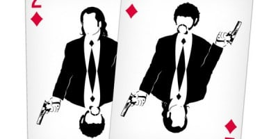 """""""Cult Movie Cards"""" – An Illustrated Movie-Themed Deck Of Playing Cards"""