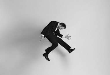 """""""Gravity"""" - Energetic Black-And-White Portraits Of People Captured In Mid-Jump"""