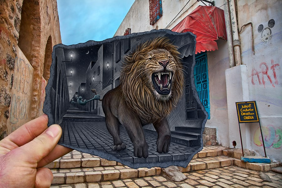 King-of-the-place-here-is-the-mighty-lion.