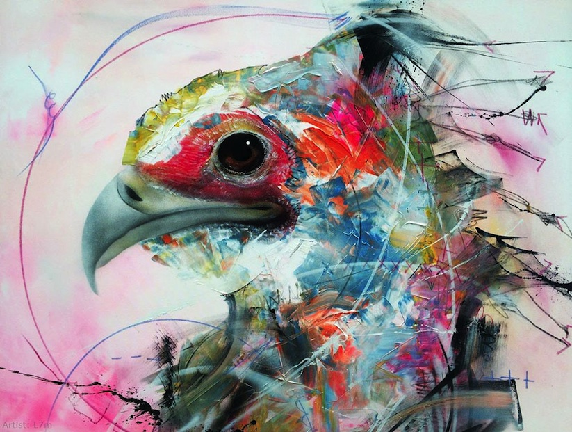 New_Spray_Painted_Birds_by_Artist_L7m_2014_02