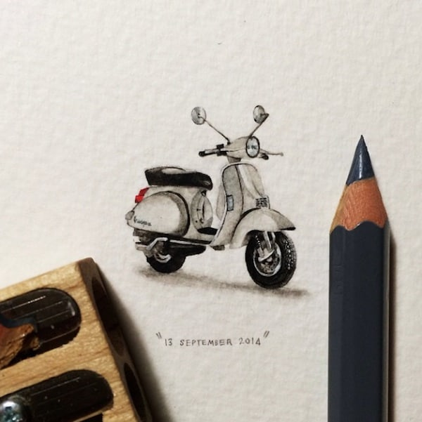 Postcards_for_Ants_Miniature_Watercolor_Paintings_by_Lorraine_Loots_2014_01