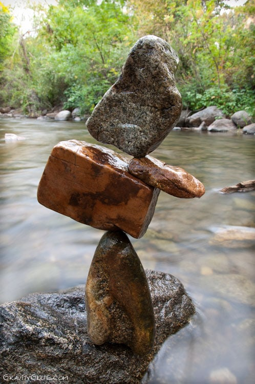 The Art of Rock Balancing by Michael Grab -