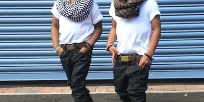 """""""2YungKings"""" – Young Twin Brothers Dressed In Matching Dapper Outfits"""