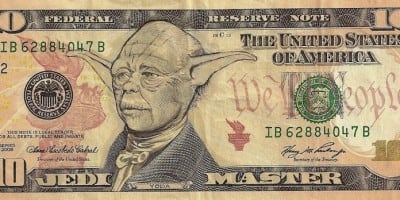 """""""American Iconomics"""" – Pop Culture Characters On Dollar Bills by James Charles"""