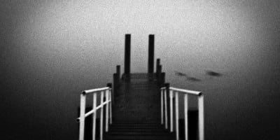 Moody Pensive Black and White Landscapes by Derek Toye