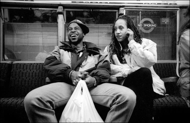 "Down the Tube Travellers on the London Underground 1987 1990 2014 04 750x488 - ""Down the Tube"" - Travellers on the London Underground 1987-1990"
