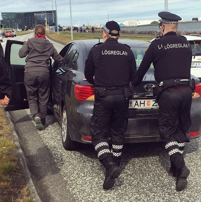Top Cop! 15 Reasons Why Icelandic Police Are Simply The Best -police, Instagram, Iceland